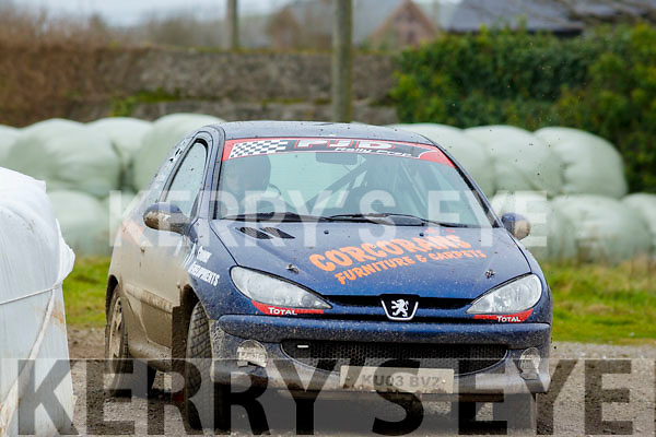 Rally action from the  Jimmy Devane Moto Cross at Ballybeggan Racecourse on Saturday last.