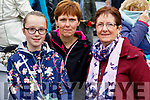 Laura Kate, Martha and Mary Spillane, Causeway, pictured at Ballyheigue Pattern Day on Saturday last.