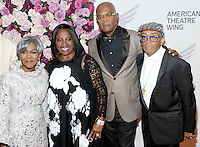 NEW YORK, NY - September26:  Cicely Tyson, LaTanya Richardson, Samuel L. Jackson and Spike Lee attend American Theater Wing Honoring Cicely Tyson at 2016 Gala at the Plaza Hotel  on September 26, 2016 in New York City .  Photo Credit:John Palmer/MediaPunch