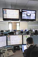 - Milan, ATM (Azienda Trasporti Milanesi), control room of surface transport network<br /> <br /> - Milano, ATM (Azienda Trasporti Milanesi), sala operativa della rete di trasporti di superficie