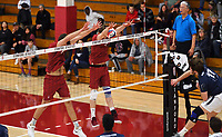 Stanford, CA; January 4, 2019; Men's Volleyball, Stanford vs Menlo.