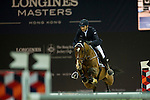 Piergiorgio Bucci on Heartbreaker v. Achterhoe competes during Massimo Dutti Trophy  at the Longines Masters of Hong Kong on 21 February 2016 at the Asia World Expo in Hong Kong, China. Photo by Juan Manuel Serrano / Power Sport Images