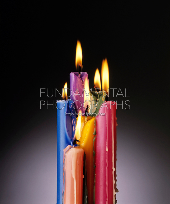 BURNING CANDLES: PHYSICAL &amp; CHEMICAL CHANGE<br />