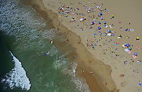 July. 10, 2009; Los Angeles, CA, USA; Ocean beach sand Santa Monica. Mandatory Credit: Mark J. Rebilas