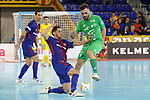 League LNFS 2017/2018 - Game 10.<br /> FC Barcelona Lassa vs CA Osasuna Magna: 3-3.<br /> Rafa Lopez vs Rafa Usin.