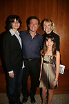 Frank Dicopoulos and family - wife Teja - son Jaden - daughter Olivia at the 16th Annual Feast with Famous Faces to benefit the League for the Hard of Hearing on October 27, 2008 at Pier Sixty at Chelsea Piers, New York City, New York. (Photo by Sue Coflin/Max Photos)