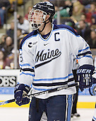 Greg Moore - The Boston College Eagles defeated the University of Maine Black Bears 4-1 in the Hockey East Semi-Final at the TD Banknorth Garden on Friday, March 17, 2006.