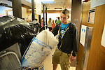 A student moves into the dorm on South Campus on August 17th, 2012. Photo by Mike Weaver | Staff