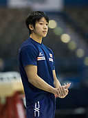 21st March 2018, Arena Birmingham, Birmingham, England; Gymnastics World Cup, day one, mens competition; Hitomi Hatakeda (JPN) standing during  Training
