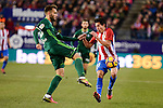 Atletico de Madrid's Nico Gaitán during La Liga match between Atletico de Madrid and Real Betis at Vicente Calderon Stadium in Madrid, Spain. January 14, 2017. (ALTERPHOTOS/BorjaB.Hojas)