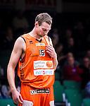 S&ouml;dert&auml;lje 2015-01-17 Basket Basketligan S&ouml;dert&auml;lje Kings - Bor&aring;s Basket :  <br /> Bor&aring;s Mike Palm ser nedst&auml;md ut under matchen mellan S&ouml;dert&auml;lje Kings och Bor&aring;s Basket <br /> (Foto: Kenta J&ouml;nsson) Nyckelord:  Basket Basketligan S&ouml;dert&auml;lje Kings SBBK T&auml;ljehallen Bor&aring;s portr&auml;tt portrait depp besviken besvikelse sorg ledsen deppig nedst&auml;md uppgiven sad disappointment disappointed dejected n