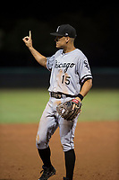 AZL White Sox third baseman Micah Coffey (15) during an Arizona League game against the AZL Dodgers at Camelback Ranch on July 7, 2018 in Glendale, Arizona. The AZL Dodgers defeated the AZL White Sox by a score of 10-5. (Zachary Lucy/Four Seam Images)