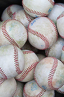 NCAA baseballs on March 2nd, 2013 at Minute Maid Park in Houston, Texas. (Andrew Woolley/Four Seam Images).