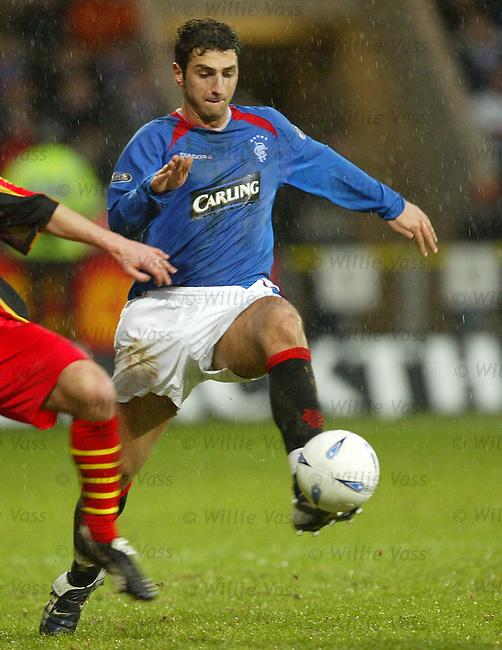 Zurab Khizanishvili, Rangers.Stock season 2003-2004.pic willie vass