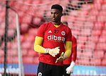 Jamal Blackman of Sheffield Utd during the Carabao Cup round One match at Bramall Lane Stadium, Sheffield. Picture date 9th August 2017. Picture credit should read: Jamie Tyerman/Sportimage