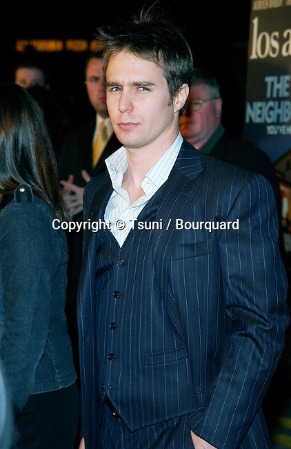 "Sam Rockwell arriving at the premiere of ""Confessions Of A Dangerous Mind"" at the Bruin Theatre in Los Angeles. December 11, 2002.            -            RockwellSam20.jpg"