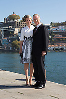 King Philippe of Belgium and Queen Mathilde of Belgium, on a State Visit to Porto, Portugal