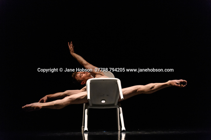"Glasgow, UK. 28.09.16. Scottish Ballet presents the World Premiere of ""Drawn to Drone"", choreographed by  Jack Webb, at the Theatre Royal Glasgow, as part of their Autumn Season 2016, in a programme which also includes Crystal Pite's ""Emergence"", and Sophie Laplane's ""Sibilo"". Picture shows: Christopher Harrison. Photograph © Jane Hobson."