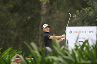 Joakim Lagergren (SWE) on the 2nd tee during Round 3 of the UBS Hong Kong Open, at Hong Kong golf club, Fanling, Hong Kong. 25/11/2017<br /> Picture: Golffile | Thos Caffrey<br /> <br /> <br /> All photo usage must carry mandatory copyright credit     (© Golffile | Thos Caffrey)