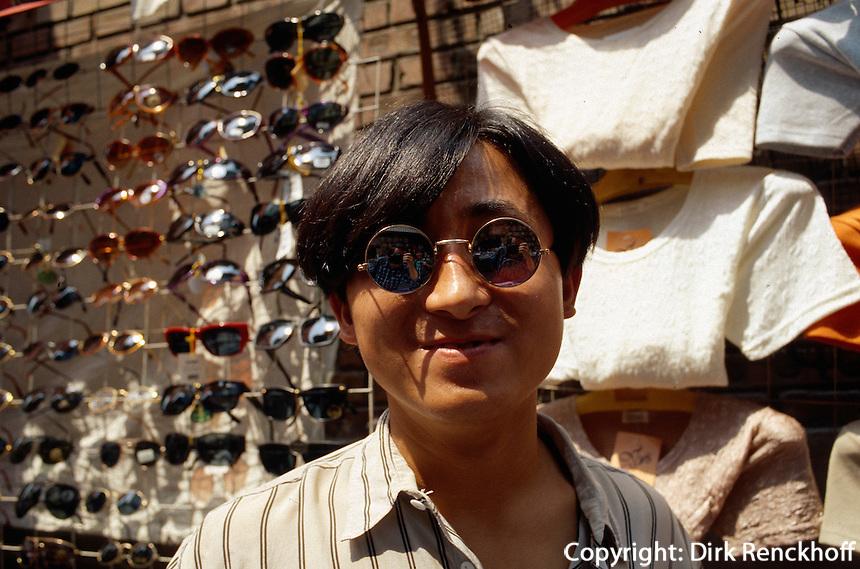 China, Peking, Markt beim QianMen-Tor
