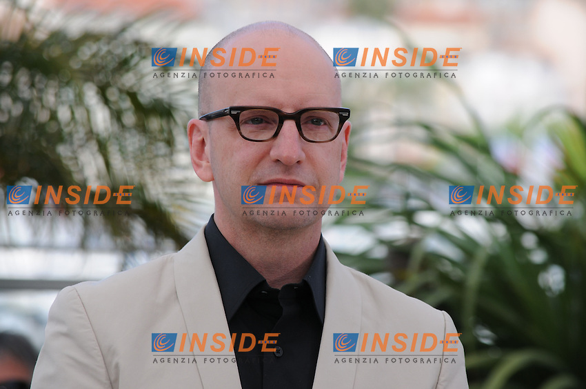 Steven Soderberg .Cannes 21/5/2013 .Festival del Cinema di Cannes .Foto Panoramic / Insidefoto .ITALY ONLY