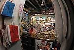 Interior of a shop in Panjim in Goa in India.