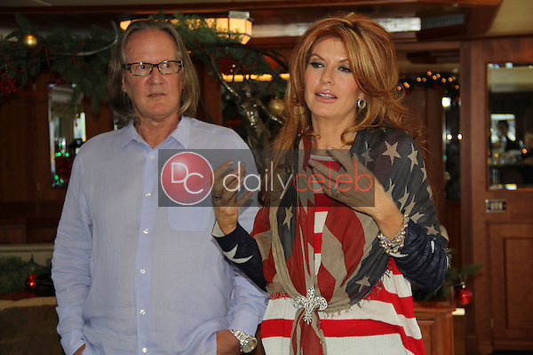Brad Friedmutter, Kimberly Friedmutter<br /> at the Living the High Life with Brad and Kimberly Press Conference, Private Location, Newport Beach, CA 12-22-12<br /> David Edwards/DailyCeleb.com 818-249-4998