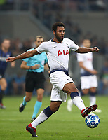 Football Soccer: UEFA Champions League FC Internazionale Milano vs Tottenham Hotspur FC, Giuseppe Meazza stadium, September 15, 2018.<br /> Tottenham's Mousa Dembélé in action during the Uefa Champions League football match between Internazionale Milano and Tottenham Hotspur at Giuseppe Meazza (San Siro) stadium, September 18, 2018.<br /> UPDATE IMAGES PRESS/Isabella Bonotto