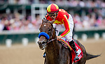 May 3, 2019 : McKinzie, #1, ridden by jockey Mike Smith, wins the Alysheba on Kentucky Oaks Day at Churchill Downs on May 3, 2019 in Louisville, Kentucky. Kaz Ishida/Eclipse Sportswire/CSM