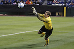 09 December 2011: UNCC's Klay Davis. The Creighton University Bluejays played the University of North Carolina Charlotte 49ers to a 0-0 tie at Regions Park in Hoover, Alabama in an NCAA Division I Men's Soccer College Cup semifinal game. UNC-Charlotte advanced to the final on penalty kicks, 4-1.