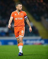 Blackpool's Jay Spearing<br /> <br /> Photographer Chris Vaughan/CameraSport<br /> <br /> The EFL Sky Bet League One - Rochdale v Blackpool - Wednesday 26th December 2018 - Spotland Stadium - Rochdale<br /> <br /> World Copyright &copy; 2018 CameraSport. All rights reserved. 43 Linden Ave. Countesthorpe. Leicester. England. LE8 5PG - Tel: +44 (0) 116 277 4147 - admin@camerasport.com - www.camerasport.com