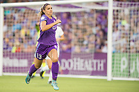 Orlando, FL - Saturday July 15, 2017: Alex Morgan during a regular season National Women's Soccer League (NWSL) match between the Orlando Pride and FC Kansas City at Orlando City Stadium.