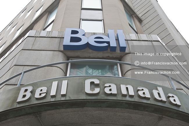 Bell Canada office is pictured in Ottawa September 27, 2010.