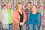 Pictured at the Recovery Haven quiz in the Dromhall Hotel, Killarney on Thursday night were Martin and Ruth Moloney, Dan Cronin and Deirdre O'Donoghue.......................