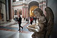 Rome@2013 - Basilica Santa Maria degli Angeli - Interno