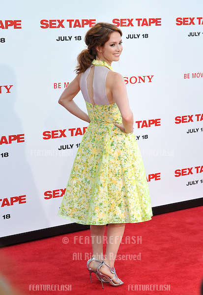 Ellie Kemper at the world premiere of her movie &quot;Sex Tape&quot; at the Regency Village Theatre, Westwood.<br /> July 10, 2014  Los Angeles, CA<br /> Picture: Paul Smith / Featureflash