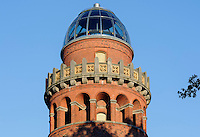 Ernst-Moritz-Arndt-Turm in Bergen auf Rügen, Mecklenburg-Vorpommern, Deutschland