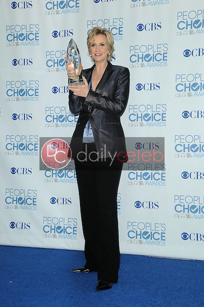 Jane Lynch<br /> at the 2011 People's Choice Awards - Press Room, Nokia Theatre, Los Angeles, CA. 01-05-11<br /> David Edwards/DailyCeleb.com 818-249-4998