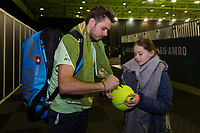 Rotterdam, Netherlands, 12 Februari, 2018, Ahoy, Tennis, ABNAMROWTT, Stan Wawrinka (SUI)<br /> Photo:tennisimages.com