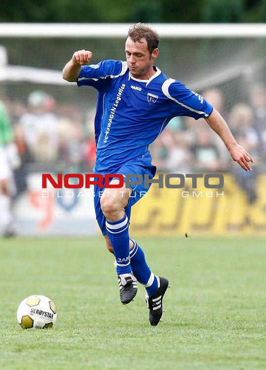 FBL  2008/2009  Testspiel<br /> Werder Bremen - Kickers Emden in Leer-Loga<br /> Thorsten Nehrbauer (Kickers #6)<br /> <br /> Foto &copy; nph (  nordphoto  )<br /> <br /> <br /> <br />  *** Local Caption ***