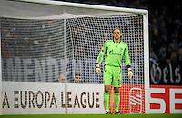 FUSSBALL   EUROPA LEAGUE   SAISON 2011/2012  SECHZEHNTELFINALE FC Schalke 04 - FC Viktoria Pilsen                          23.02.2012 Timo Hildebrand (FC Schalke 04)