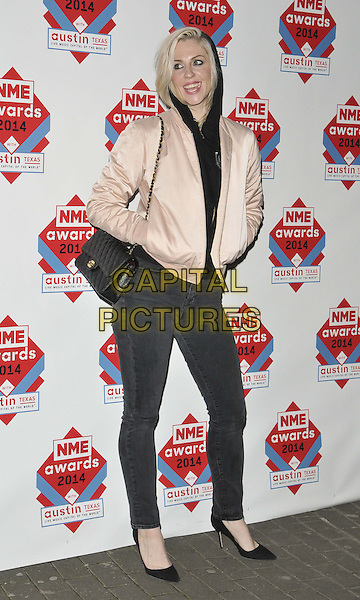LONDON, ENGLAND - FEBRUARY 26: Brody Dalle attends the NME Awards 2014, O2 Academy Brixton, Stockwell Rd., on Wednesday February 26, 2014 in London, England, UK.<br /> CAP/CAN<br /> &copy;Can Nguyen/Capital Pictures