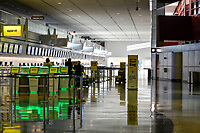 MAR 31 McCarran International Airport empty during the Covid-19 Pandemic