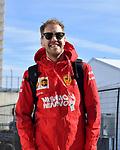 31.10.2019, Circuit of The Americas, Austin, FORMULA 1 EMIRATES UNITED STATES GRAND PRIX 2019<br /> ,im Bild<br />Sebastian Vettel (GER#5), Scuderia Ferrari Mission Winnow<br /> <br /> Foto © nordphoto / Bratic
