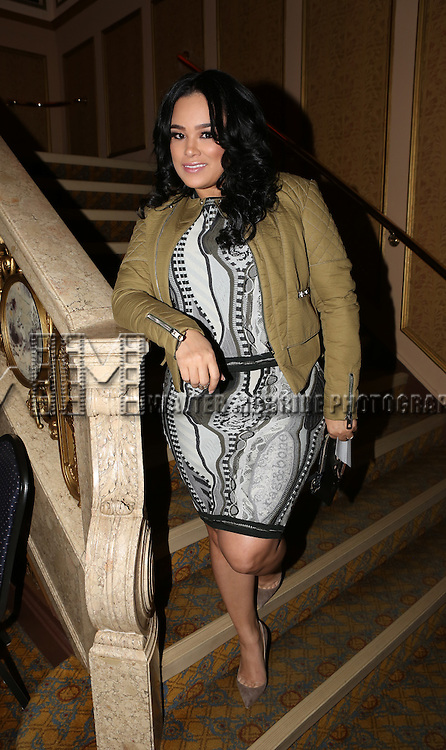 """Emily Bustamante attends the Broadway Debut Performance of NeNe Leakes in """"Rodgers + Hammerstein's Cinderella""""  at The Broadway Theatre on November 25, 2014 in New York City."""