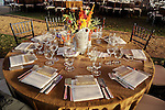 A table at the Nature Conservancy's Nature Rocks  Gala at the Houston Polo Club Thursday Oct. 22,2015.(Dave Rossman photo)