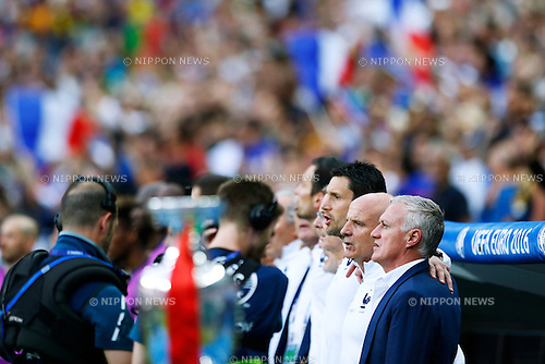Didier Deschamps (FRA), JULY 10, 2016 - Football / Soccer : UEFA EURO 2016 Final match between Portugal 1-0 France at Stade de France in Saint-Denis, France. (Photo by D.Nakashima/AFLO)