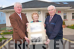 Castleisland Historian Timothy Murphy will showcase a collection of slides of the history of the region in the Ivy Leaf Theatre on April 15 and 16th to raise funds for Castleisland Day Care Centre. .L-R Timothy Murphy, Sheila Burke and James Lyons.