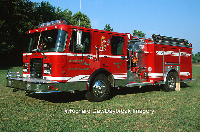 63818-01813 Firetruck - Pumper  Kinmundy-Alma Fire District,  Kinmundy IL