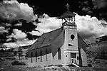 Old church in Colorado mountain town